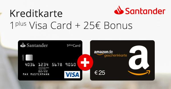 Kostenlose Visa Karte.Letzter Tag Kostenlose Santander 1plus Visa Mit 25 Bestchoice