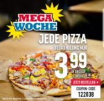 Domino's jede Pizza nur 3,99€ (Selbstabholung)