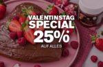 Valentinstag Special 25% auf Alles bei nu3