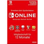 12 Monate Nintendo Switch Online Mitgliedschaft