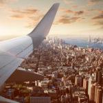 Flugzeug-über-USA