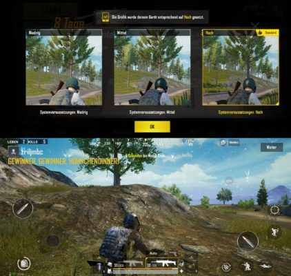 Galaxy S10+ PUBG Gaming