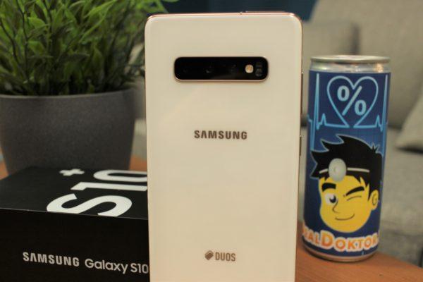 Galaxy S10+ Rückseite