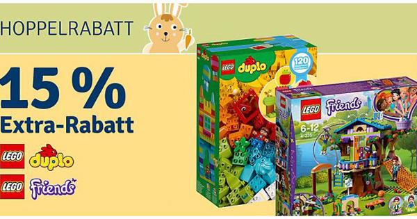 89baabeadfd57c 👦👧 myToys  15% Extra-Rabatt auf LEGO - DUPLO und Friends
