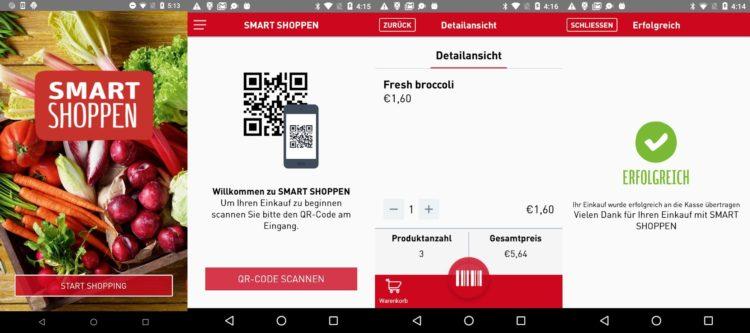 Rewe Smart Shoppen App