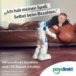 Alternate: 15€ Rabatt mit Paydirekt ab 70€ Bestellwert - z.B. 50€ + 20€ PSN Guthaben für 55€ (statt 70€)