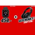 Apple-Watch-+-JBL-Kopfhörer
