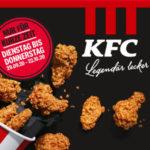 KFC-Angebot: 15 Hot Wings für 5€ + 2x Pommes/1x Pommes+Softdrink/2 Softdrinks für 3€ Aufpreis