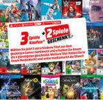 5 Games kaufen und nur 3 bezahlen bei MediaMarkt bis 23.04.