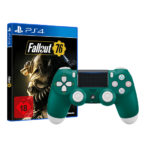 PS4 Controller Alpine Green + Fallout-76