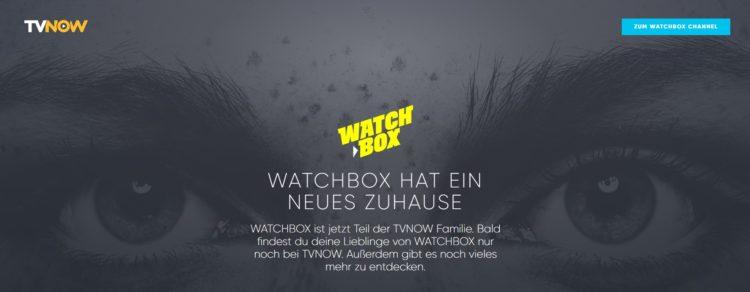 WATCHBOX_ Filme, Serien & Anime bei TVNOW
