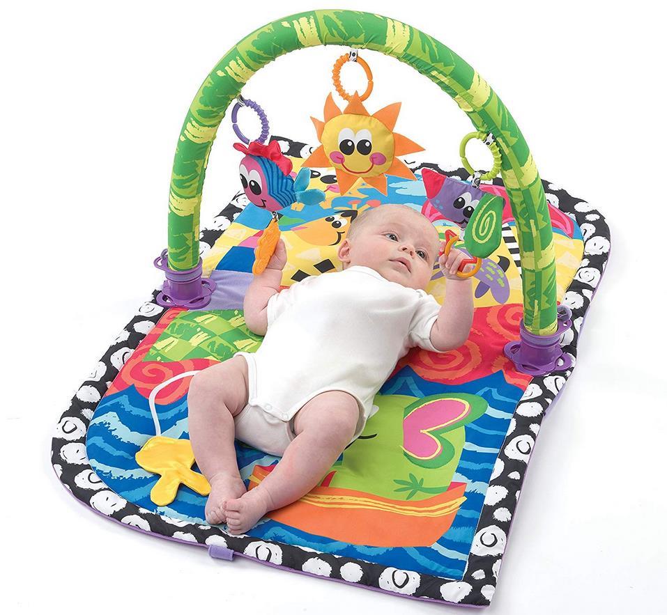 krabbeldecke mit spielbogen playgro giggle beach f r 16 99 statt 30. Black Bedroom Furniture Sets. Home Design Ideas