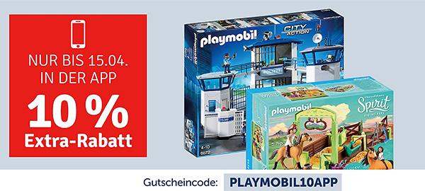 dd36b228f8848f Es muss nicht immer LEGO sein ! Bei myToys bekommt ihr gerade diverses von  Playmobil im Sale und auf alles noch einmal 10% Extra-Rabatt in der App