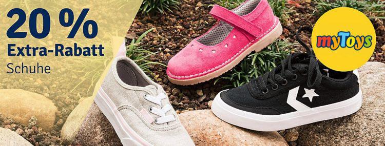 reputable site de26e f1cc0 👦👧 myToys: 20% Extra-Rabatt auf Schuhe - auch im Sale