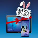 o2 Oster-Offer *nur bis 23.04.* Alles-Flat + 10GB LTE für 29,99€/Monat + Huawei Mate 20 + GRATIS Tablet + 160€ (NEU!) Amazon.de-Gutschein