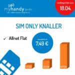 [Nur im Shop in Berlin] Allnet + 10GB LTE ab 7,49€