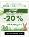 """Osterkalender von Kaufhof: jetzt 20% Rabatt mit """"duft20ok"""" auf Düfte und Duftsets"""