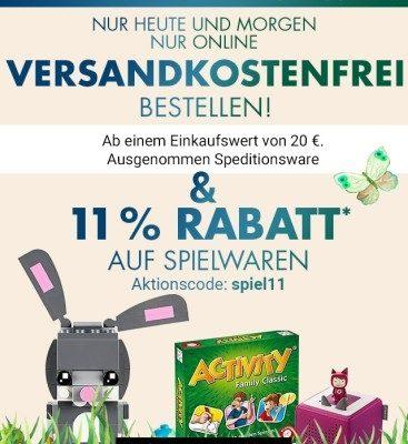 """Karstadt: mit """"spiel11"""" jetzt 11% Rabatt auf Spielwaren- ab 20€ versandkostenfrei"""