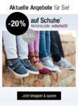 Nur heute im Kaufhof/ Karstadt: 20% Rabatt auf Schuhe