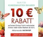 Karstadt: 10€ Rabatt ab 60€ /20€ Rabatt ab 100€ oder 15% auf einem Artikel für Kundenkarten-Inhaber