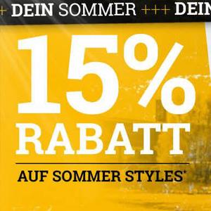 15%-Rabatt-auf-Sommerstyles