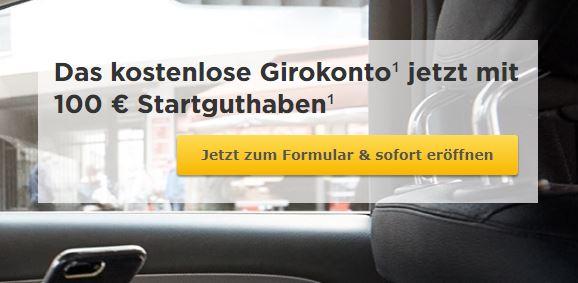 Commerzbank_100 Euro Startguthaben