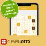 2 Wochen EuroJackpot in der Clever Lotto-App für 0,10€ spielen (Neukunden) - 57 Mio € Jackpot