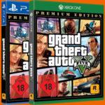 GTA 5 - Grand Theft Auto V (PlayStation 4 oder Xbox) für 18€ (statt 25€)