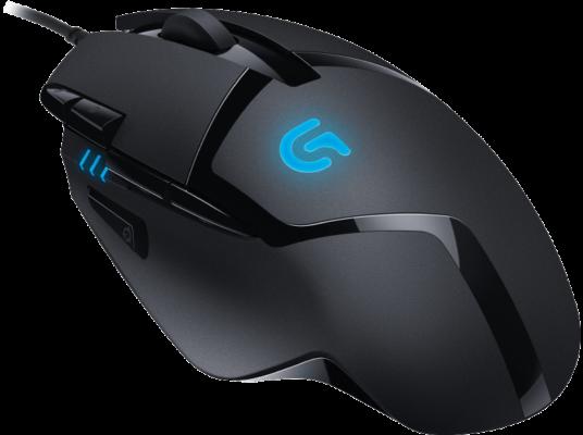 LOGITECH G402 Gaming Maus Kabelgebunden Schwarz