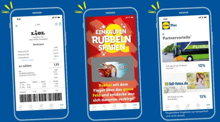 Lidl Plus Kassenbon Rubbellos Partnervorteile