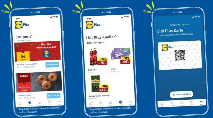 Lidl Plus willkommen knaller coupons karte
