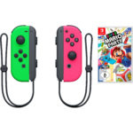 Nintendo Switch Joy-Con Controller 2er-Set + Super Mario Party für 104,95€ (statt 123€)