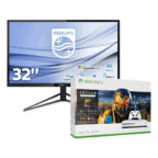 Philips 326M6VJRMB Monitor + Xbox One S Anthem Bundle