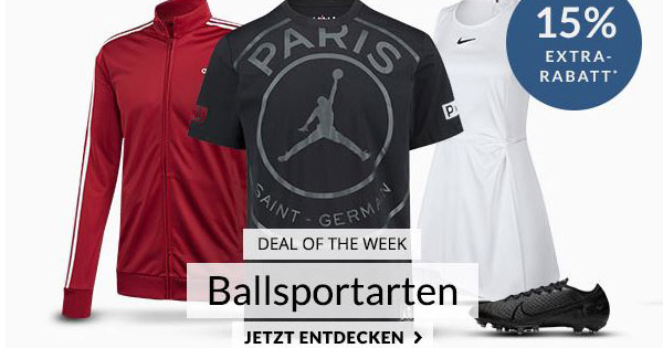 Engelhorn: 20% Extra Rabatt auf Nike Produkte ›