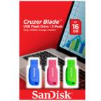 SanDisk Cruzer Blade 3er-Pack