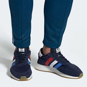 adidas-Sneaker-blau-rot