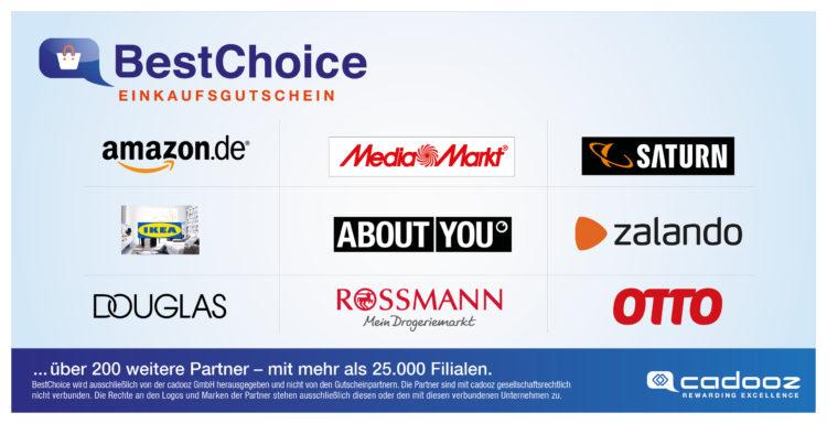 BestChoice Premium Gutschein von Cadooz