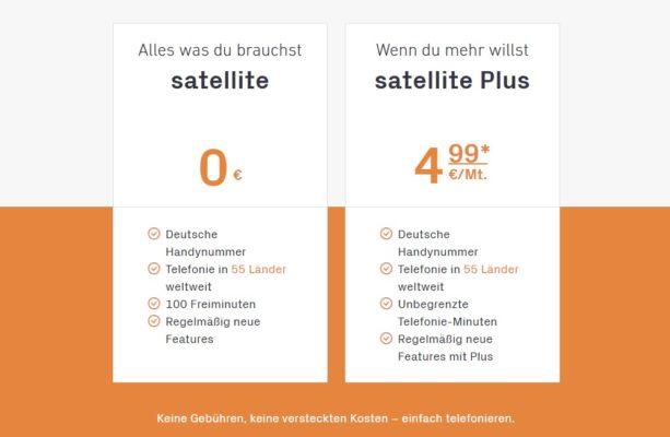 satellite – Preise
