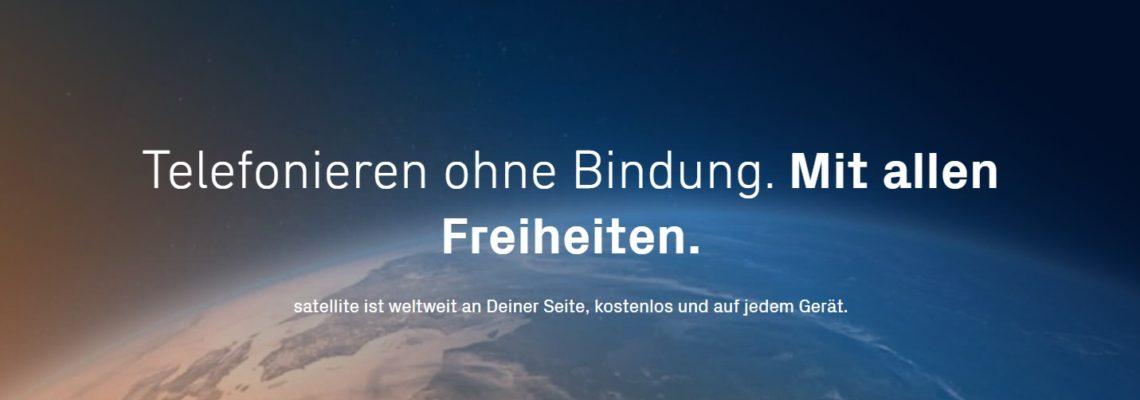satellite – Telefonie ohne Grenzen
