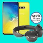 *Ab 21,99€/Monat* Samsung Galaxy S10 / S10e / S10 Plus + Allnet-Flat + 10GB/6GB LTE im Vodafone-Netz (viele Tarife mit satter Ersparnis + Tarif eff. GRATIS)