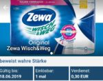 Zewa Wisch&Weg für 1,19 € bei Rewe (reebate)