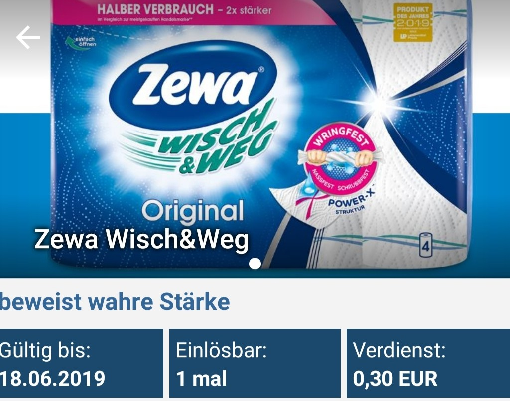 Zewa Wisch&Weg Für 1,19 € Bei Rewe (reebate