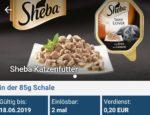 Sheba Katzenfutter für 0,15 € bei Rewe (reebate)