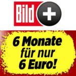 BILDplus Digital: 6 Monate für 6€ (statt 48€)
