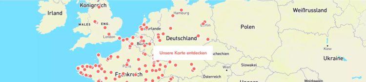 BlaBlaBus Karte