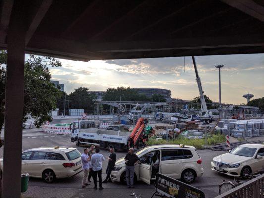 Google Pixel 3a Busbahnhof abends
