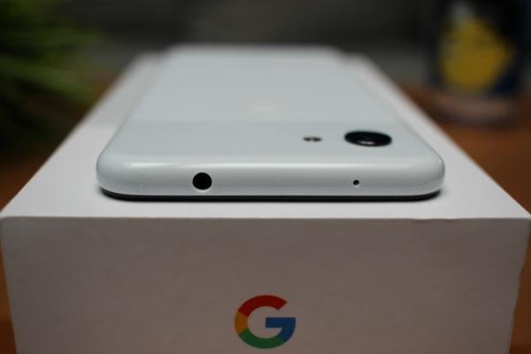Google Pixel 3a Kopfhöreranschluss