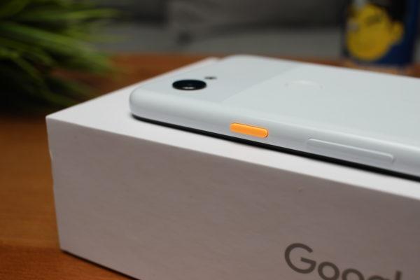 Google Pixel 3a Power Button