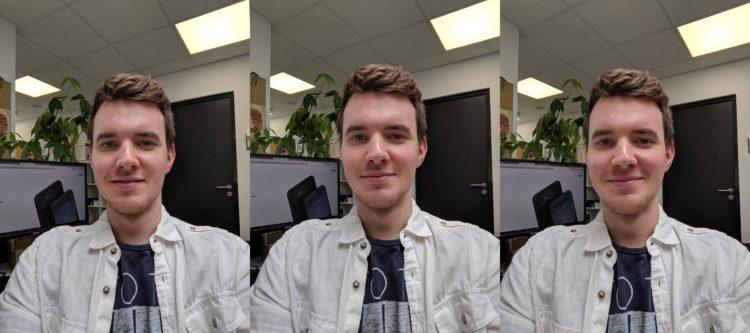 Google Pixel 3a Selfies Beauty Modus