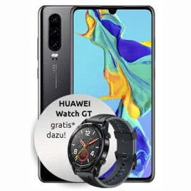 Huawei P30 128GB LTE Black Otelo Allnet-Flat Classic Titelbild